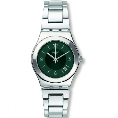 Ladies Swatch Middlesteel Watch YLS468G