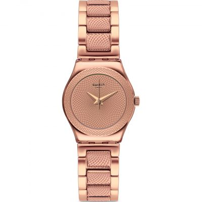 Swatch FW19 Irony Full Rose Damenuhr in Rosegold YSG163G