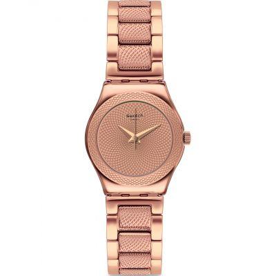 Ladies Swatch Full Rose Watch YSG163G