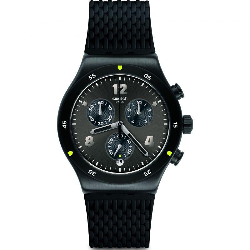 Mens Swatch Darkbark Watch
