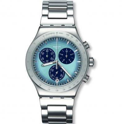 Swatch FW19 Irony Sky Icon Herrenuhr in Silber YVS459G