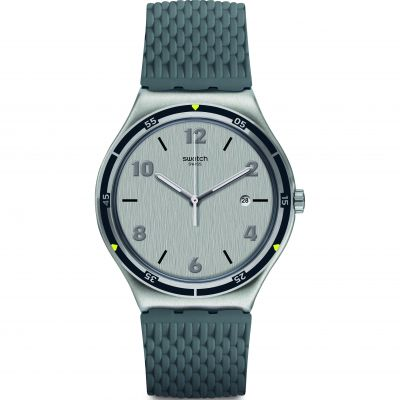 Swatch FW19 Irony Asphaltise Herrenuhr in Grau YWS447