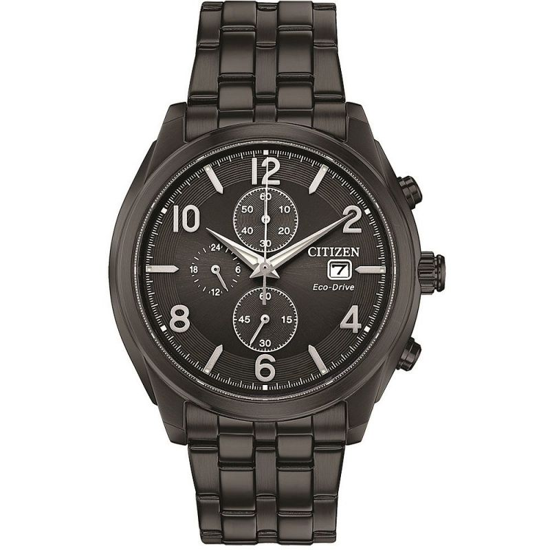 Mens Citizen Gents Eco-Drive Chrono Chronograph Watch