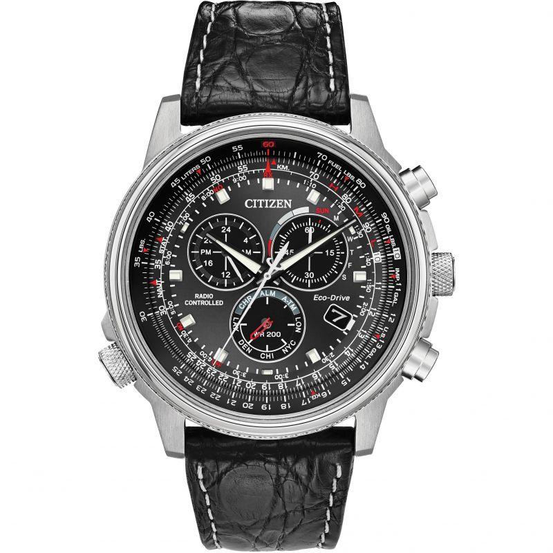 Mens Citizen Gents Eco-Drive Chrono A.T Ltd Ed Alarm Chronograph Watch