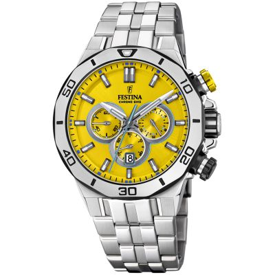 Festina Tour Of Britain 2019 Herrkronograf Silver 20448/A