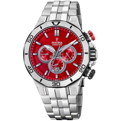 Festina Tour Of Britain 2019 Herrkronograf Silver 20448/B
