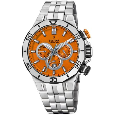 Festina Tour Of Britain 2019 Herrkronograf Silver 20448/C