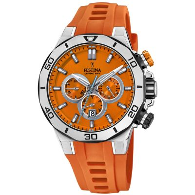 Festina Tour Of Britain 2019 Herrkronograf Orange 20449/C