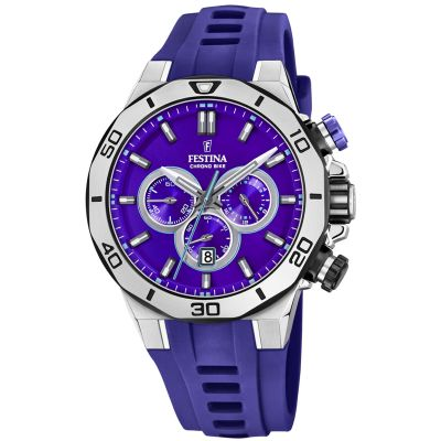 Festina Tour Of Britain 2019 Herenchronograaf Blauw 20449/D