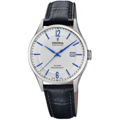 Festina Swiss Made Herenhorloge Zwart F20007/2