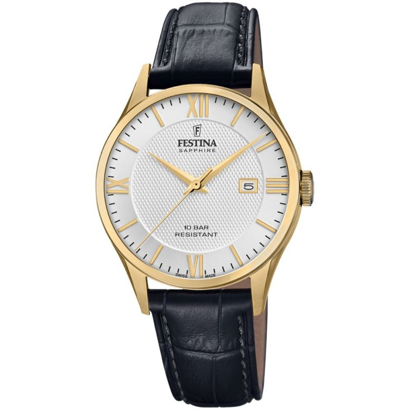 Mens Festina Swiss Made Watch F20010/2