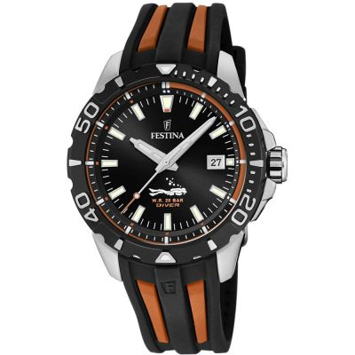 Festina Divers Watch Herenhorloge Tweetonig F20462/3