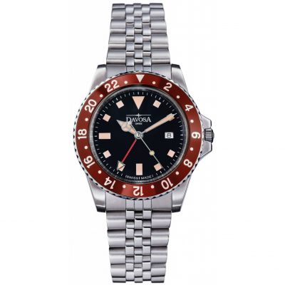 Davosa Vintage Diver GMT Watch 16350060