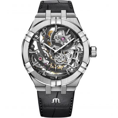 Maurice Lacroix Aikon Skeleton Automatic Watch AI6028-SS001-030-1
