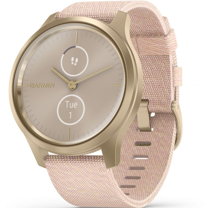 Garmin Vivomove Style Hybrid Watch Rose Gold 010-02240-02