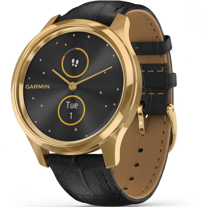 Unisex Garmin vivomove Luxe Bluetooth Smartwatch 010-02241-02