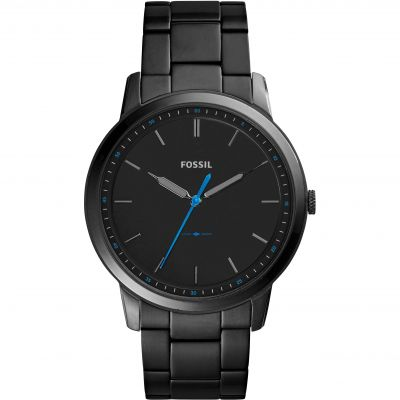 Fossil SUMMER 2017 The Minimalist 3H Herrenuhr in Schwarz FS5308