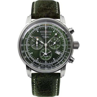 Mens Zeppelin 100 Years Chronograph Watch 8680-4