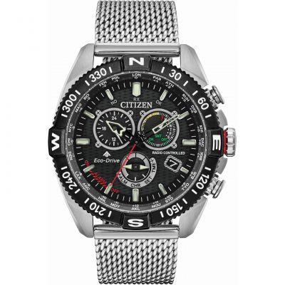 Citizen Hawk Series Herrenchronograph in Silber CB5840-59E