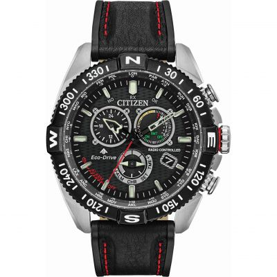 Citizen Hawk Series Herrenchronograph in Schwarz CB5841-05E