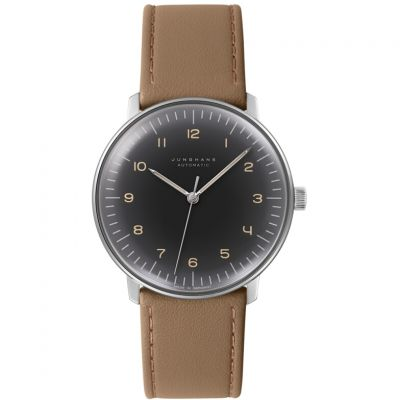 Junghans Max Bill Herrenuhr in Braun 027/3401.04