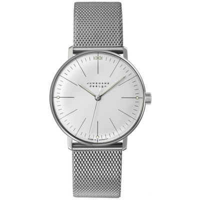 Unisex Junghans Max Bill Handwinding Mechanical Watch 027/3004.48