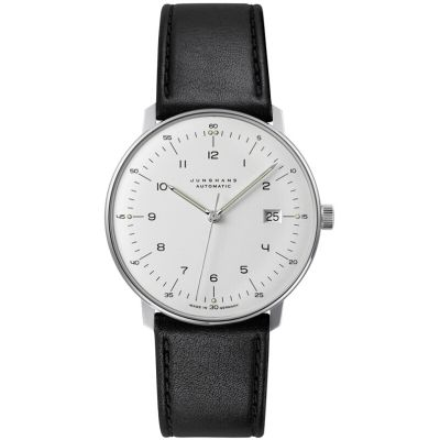 Junghans Max Bill Herrenuhr in Schwarz 027/4700.04