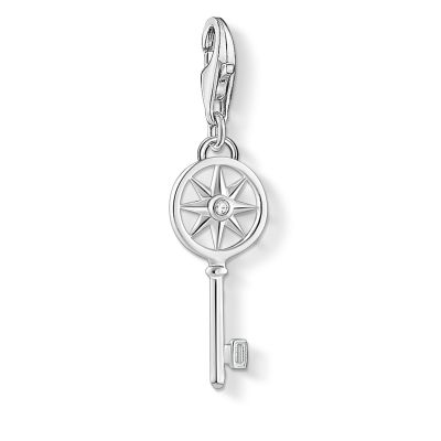 Thomas Sabo Zirconia Key Charm Sterlingsilver 1799-051-14