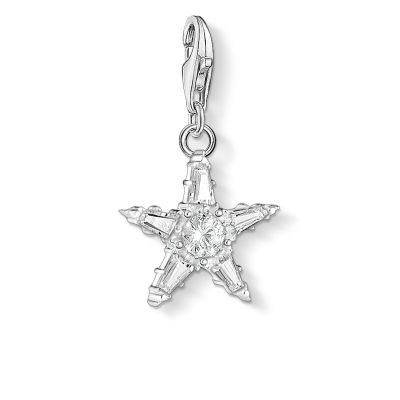 Thomas Sabo Zirconia Star Charm Sterlingsilver 1804-051-14
