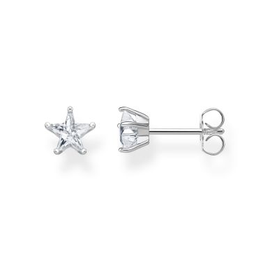Thomas Sabo Small Zirconia Magic Stars Ear Studs Sterling Zilver H2079-051-14