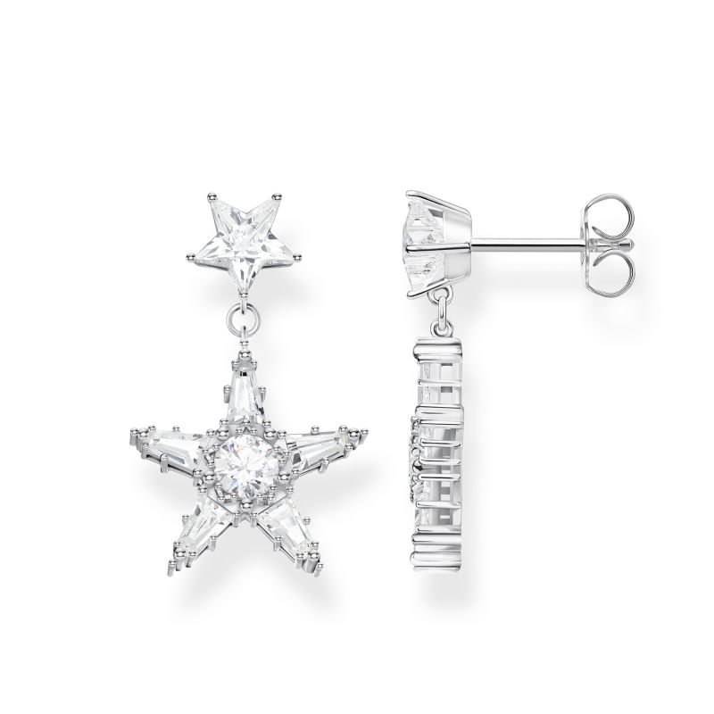 Thomas Sabo Zirconia Magic Stars Earrings H2080-051-14