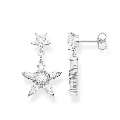 Thomas Sabo Zirconia Magic Stars Earrings Sterlingsilver H2080-051-14