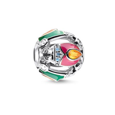 Thomas Sabo Colourful Silver Bug Bead Sterlingsilver K0332-845-7