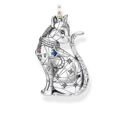Thomas Sabo Constallation Cat Pendant Sterlingsilver PE857-340-7