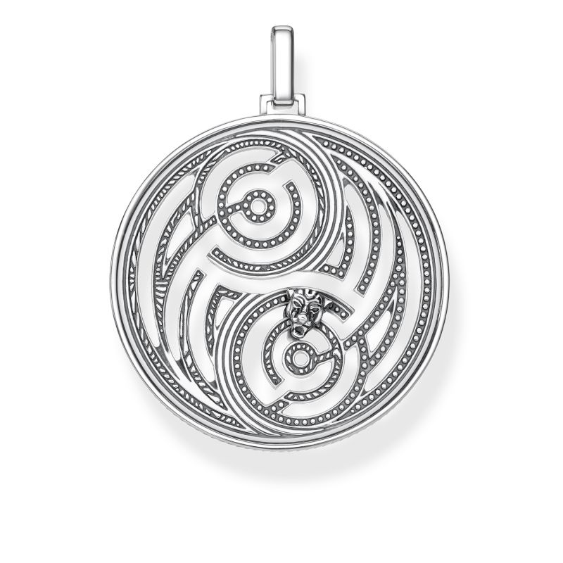 Thomas Sabo Yin & Yang Cut-Out Pendant PE865-637-21