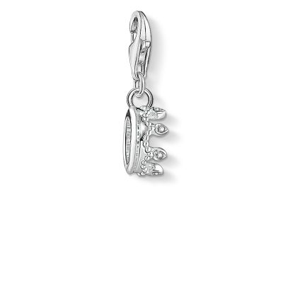 Joyería Thomas Sabo Jewellery Zirconia Crown Charm 1796-051-14