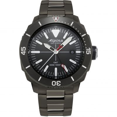 Alpina Seastrong Diver GMT Watch AL-247LGG4TV6B