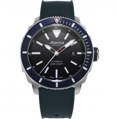 Alpina Seastrong Diver 300 Watch AL-525LBN4V6