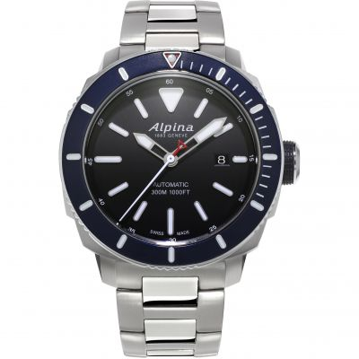 Alpina Seastrong Diver 300 Watch AL-525LBN4V6B