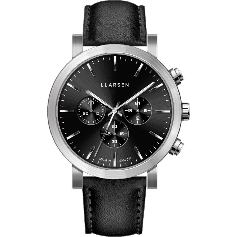 Mens LLARSEN Nor Chronograph Watch 149SBS3-SINK20