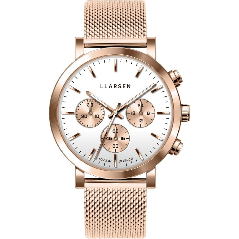 Ladies LLARSEN Noa Chronograph Watch 148RWR3-MR3-18