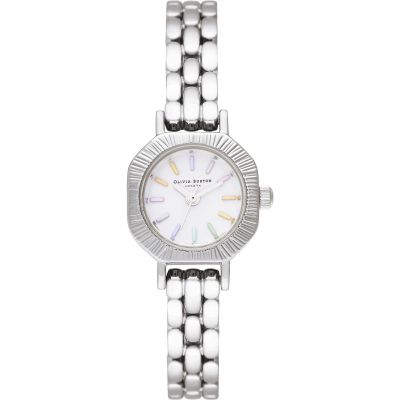 Ladies Olivia Burton Silver Bracelet Watch OB16CC52