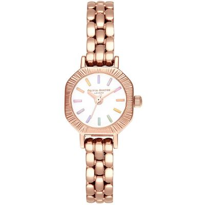 Ladies Olivia Burton Pale Rose Gold Bracelet Watch OB16CC50