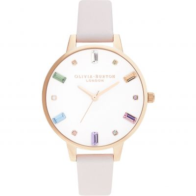 Ladies Olivia Burton Blossom & Rose Gold Watch OB16RB22