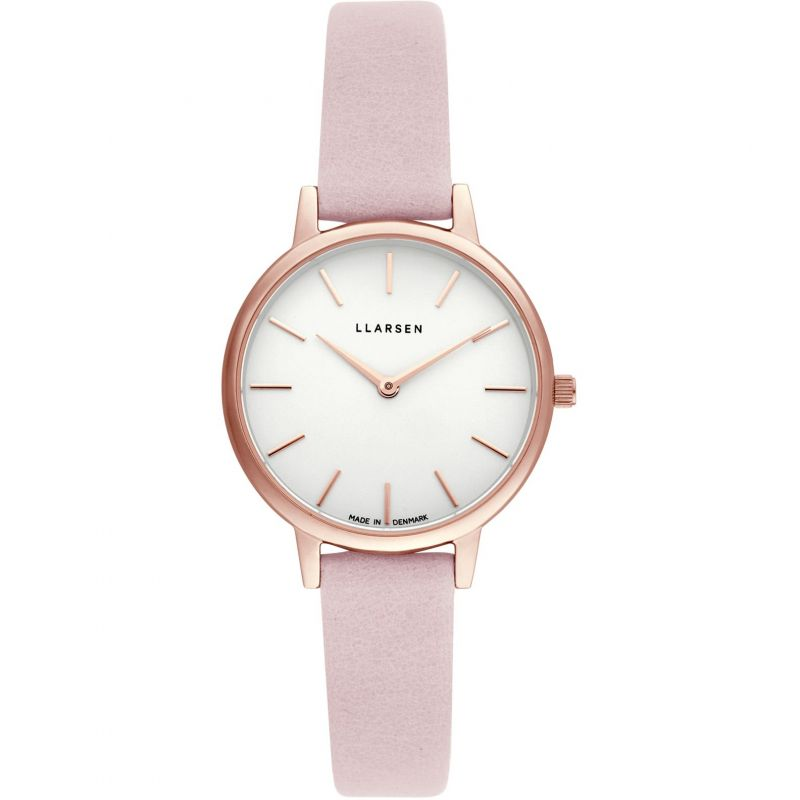 Ladies LLARSEN Carolina Watch 146RWR3-RPOWDER12