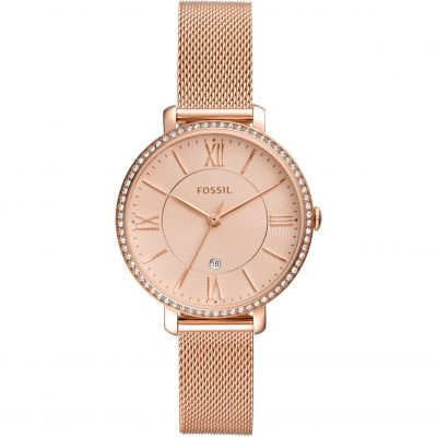 Ladies Fossil Jacqueline Mesh Watch ES4628