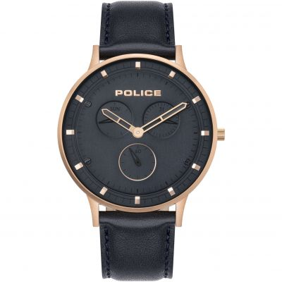 Police Berkeley Herenhorloge Dark Blue 15968JSR/03