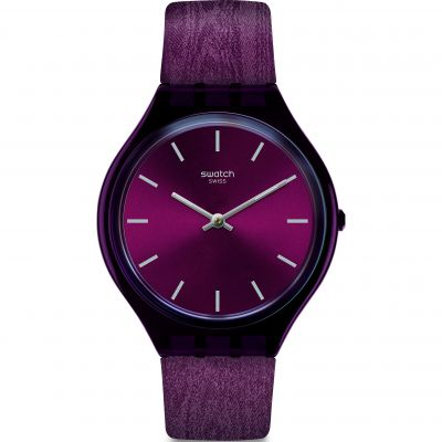 Ladies Swatch Skintempranillo Watch SVOV101