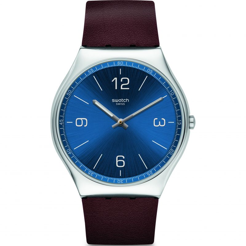 Mens Swatch Skinwind Watch