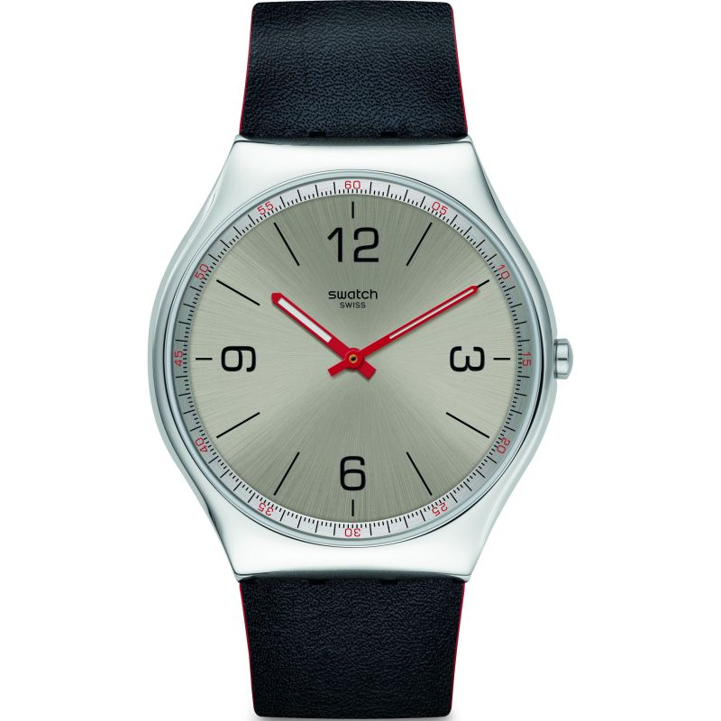 Mens Swatch Skinmetal Watch